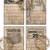 Basic Black Vintage Printable Journal Cards Lined