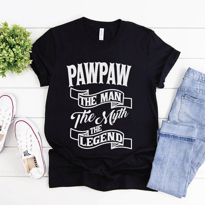 Paw Paw The Man The Myth The Legend Svg, Fathers Day, Gift For Dad, Digital