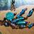 Aqua Waterfall Pendant Necklace