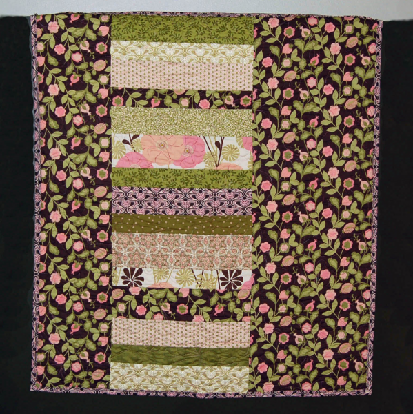 Sweet Pea cuddle quilt