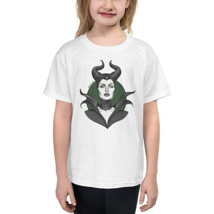 Maleficent Youth Short Sleeve T-Shirt, Kid's T-Shirt