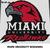 Miami University Redhawks Logo and Mascot crochet graphgan blanket pattern;