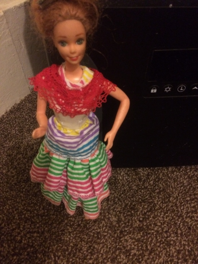 Barbie's Fiesta Dress