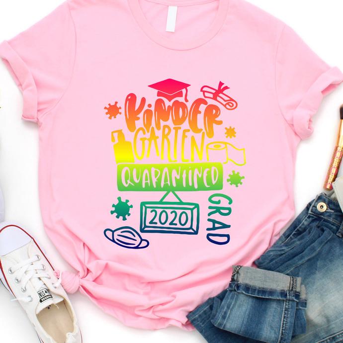 Kindergarten 2020 Quarantined T shirt