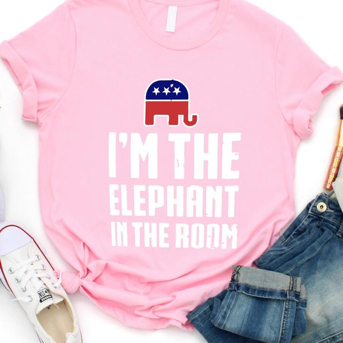 I'm The Elephant In The Room T shirt