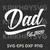 Dad, My first Fathers day, dad design,svg ,dxf,eps,png digital – SVG, Family