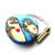 Small Tape Measure Hearts and Otters Retractable Measuring Tape