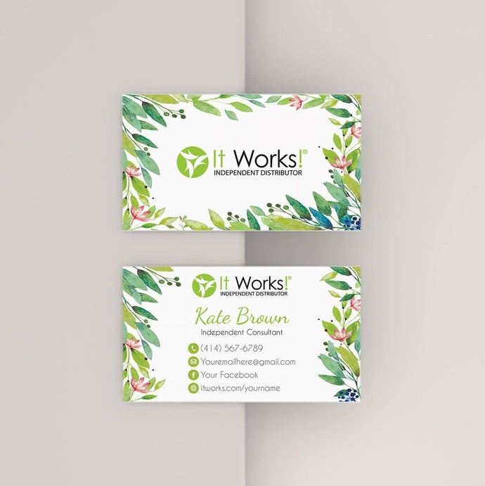 It Works Business Cards, It Works Global Cards, It Works Products IW13