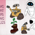 Walle svg bundle,Wall-E svg, dxf, eps, png files cor circut and silhouette