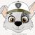 Paw patrol svg, Rockyface svg, Paw patrol birthday printabes, cut files, dxf,