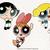 Powerpuff girls cutfiles, Powerpuff girls svg, clip art, cutfiles eps, dxf & png