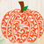 Patterned Pumpkin svg files, Patterned Pumpkin, clip art, cutfiles eps, dxf &