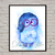 Sadness Inside Out Disney, Inside Out print, poster, home decor, nursery room,