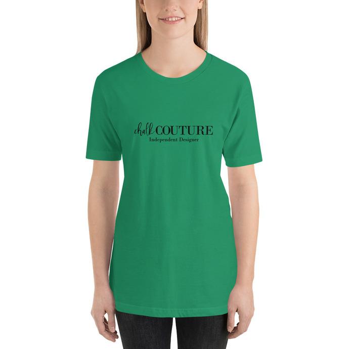 Chalk Couture Designer Short-Sleeve Unisex T-Shirt