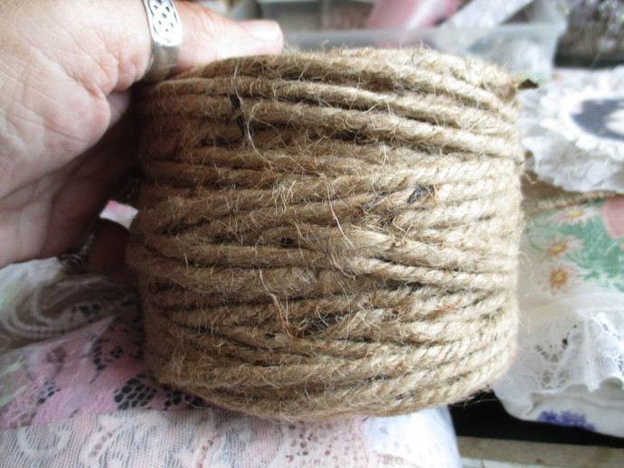 5mts Of Chunky Jute String