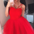 Cute Red Tulle Short Homecoming Dress, Prom Dance Dress, Formal Graduation Dress