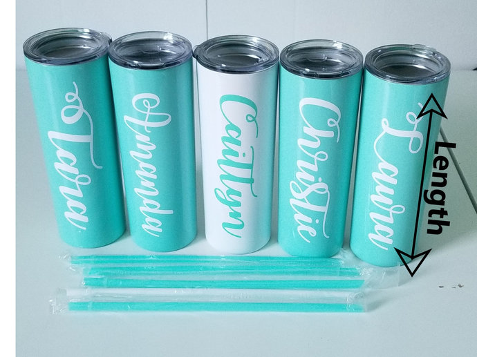 Custom Water Bottle Name Decal, Title Decal, Personalized Decal, Cup Decal, Name