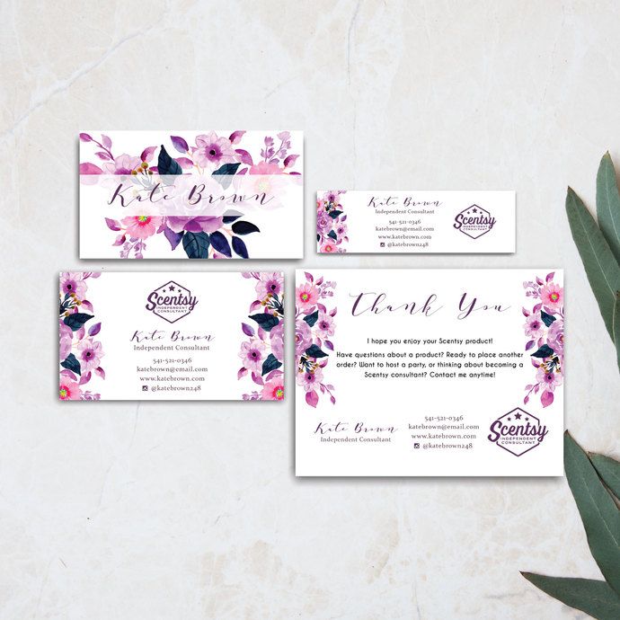 Scentsy Bundle, Scentsy business card, Scentsy Label Card SS06