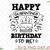 Happy Quarantined Birthday To Me SVG Files for Cricut / Quarantine Birthday svg