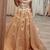 Stylish Off Shoulder Tulle 3D Flowers Prom Dress Long Evening Dress