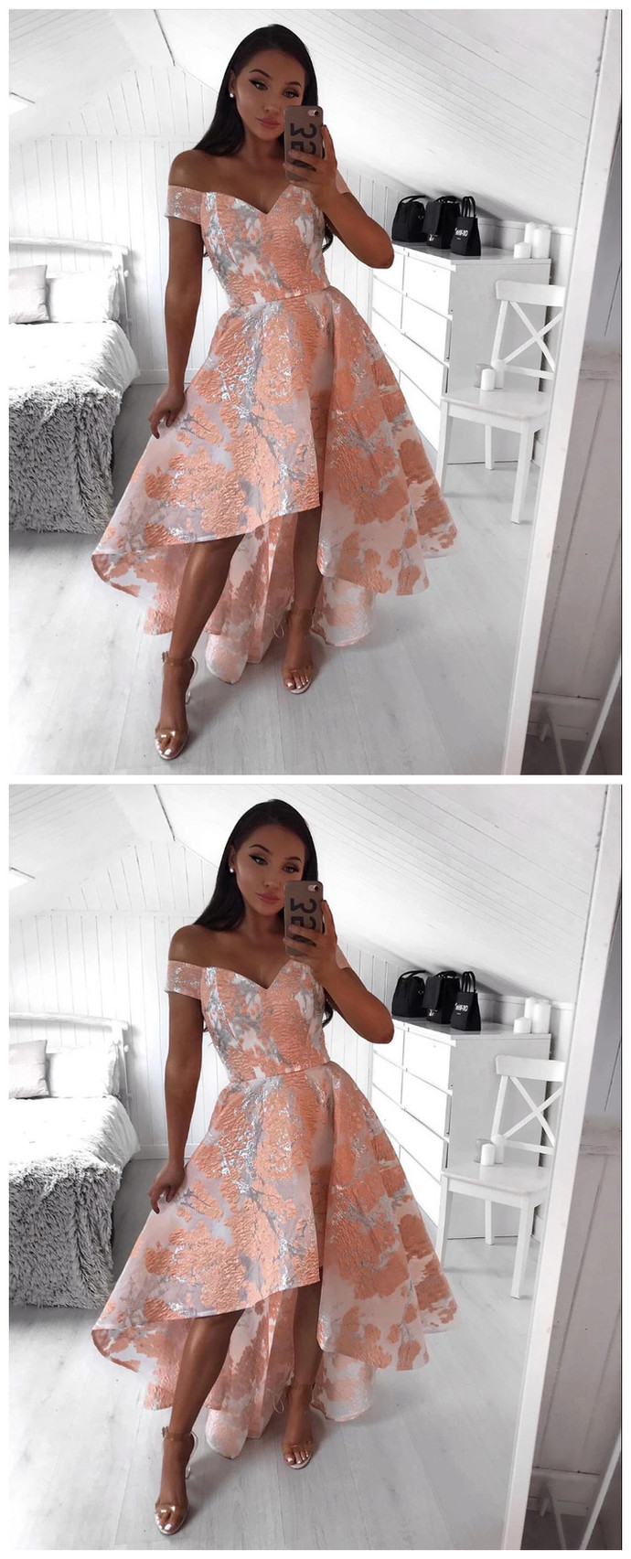 Short Mini Lace Homecoming Dress, Short Prom Dress, Prom dress
