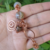 Handmade Copper and Agate Bracelet