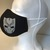 FACE MASK, Black Panther, 100% Cotton, 3-Layers, Handmade, Machine