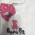 T-SHIRT and FACE MASK, Matching Combination, Peppa Pig, 100% Cotton