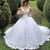 boho wedding dresses for bride luxury Lace Applique beaded elegant princess