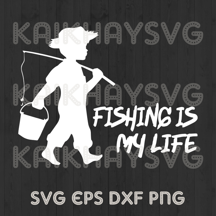 Download Fishing Is My Life T Shirt Fishing Is My By Kaikhaystore On Zibbet