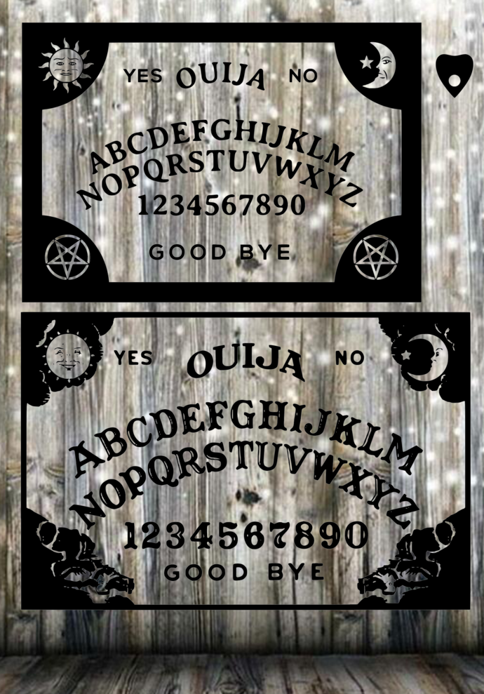 Ouija Board SVG and JPG files