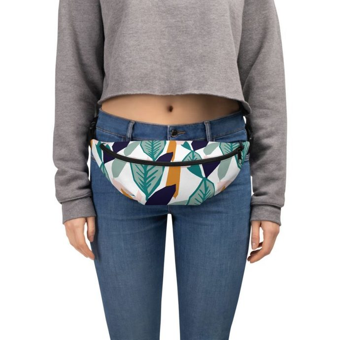 Tropical Fanny Pack, Unisex Summer Fanny Pack