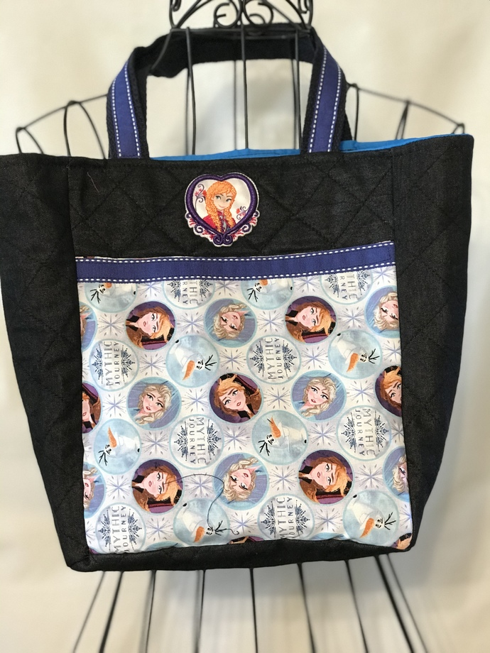 TOTE BAG, LUNCH BAG, Disney, Elsa, Anna
