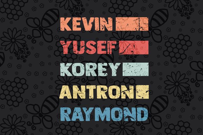 Kevin yusef korey antron raymond, central park svg, central park gift, central