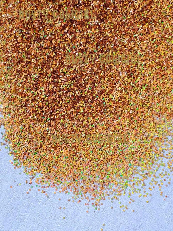 Holographic Gold Metallic .008 Ultra Fine Glitter - 1 oz. Bag