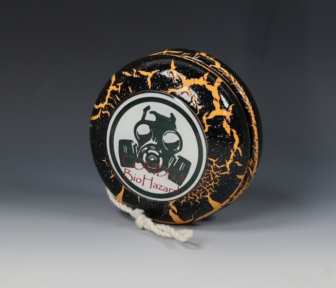 COVID-19 Lightning Yo-Yo ... Black/Gold