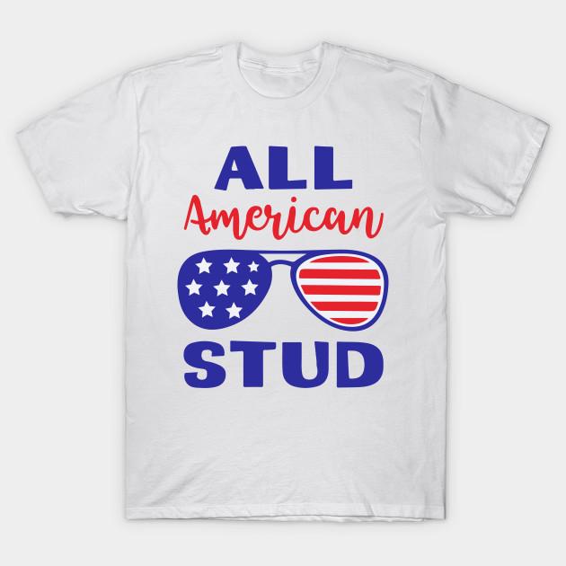 All American Stud Svg Boys Fourth of July Svg