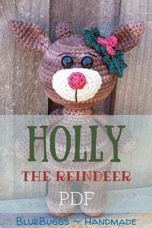 Holly the Reindeer - PDF Download Only