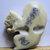 Richard Carpenter Hand Carved Antler Squirrel Button
