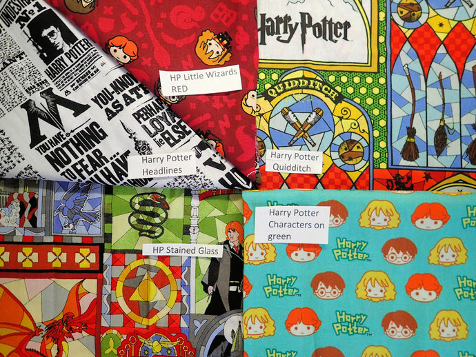 Geeky face mask 100% cotton fabric & flannel handmade washable harrypotter