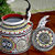 Handpainted Sun  Indian Tea Kettle