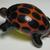 Fabulous Glass Realistic Turtle Button by Mike Edmonson