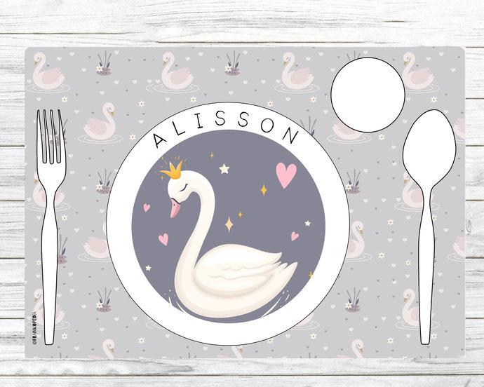 Montessori placemat * Personalised Montessori placemat * Montessori * Toddler