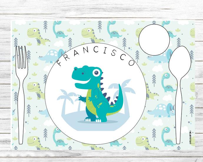Personalised Montessori placemat * Montessori placemat * Montessori * Toddler
