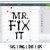 Mr Fix it SVG, Mr Fix it DXF, Mr Fix it EPS, Mr Fix it PNG | Mr Fix it file for