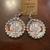 Nurse life earrings, handmade dangle earrings