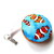 Tape Measure with Clown Fish Small Retractable Measuring Tape