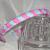 LSB Woven Summer Pastels Skinny Headband
