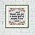 Housewarming simple cross stitch pattern