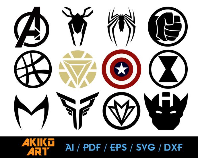 avenger vector avengers logo dxf eps png by akiko art on zibbet marketplace